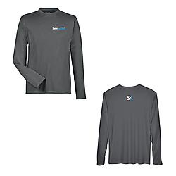 Performance t-shirt with long sleeve for men