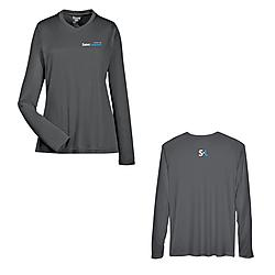 Performance t-shirt with long sleeve for ladie